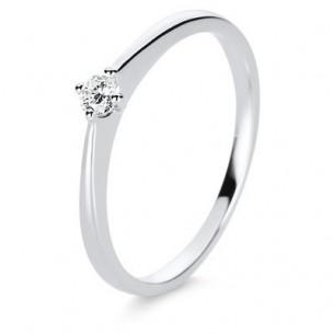 1E205W452-1, Brillantring - Verlobung