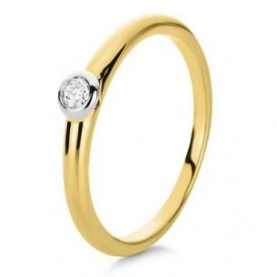 Brillantring - Verlobungsring, 1B855GW454-1