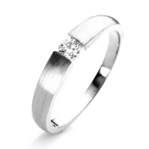 1E427W454-2, Brillantring - Verlobung