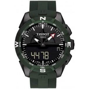 Tissot T-TOUCH SOLAR 2 TITAN PVD/GRÜN - T1104204705100