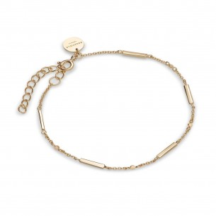 Armband - Elizabeth silbervergoldet, JELG-J001