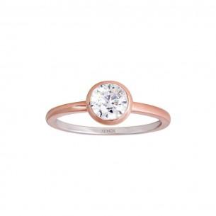 Xenox ring rosé vergoldet, XS7280R/54