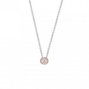 Xenox Collier Silber rose vergoldet, XS7281R