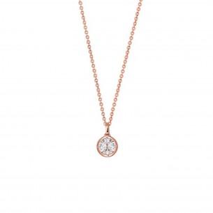 Xenox Collier Silber rose vergoldet, XS7283R
