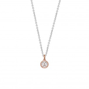 Xenox Collier Silber rosè vergoldet, XS7284R
