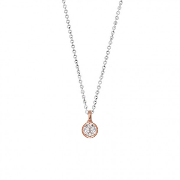 Xenox Collier Silber rosè vergoldet - XS7284R