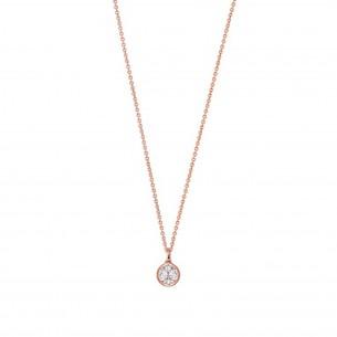 Xenox Kette Silber rosè vergoldet - XS7285R