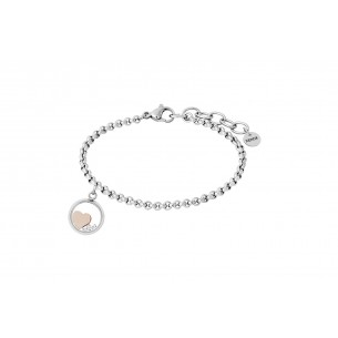 Armband - Herz rose, X6310