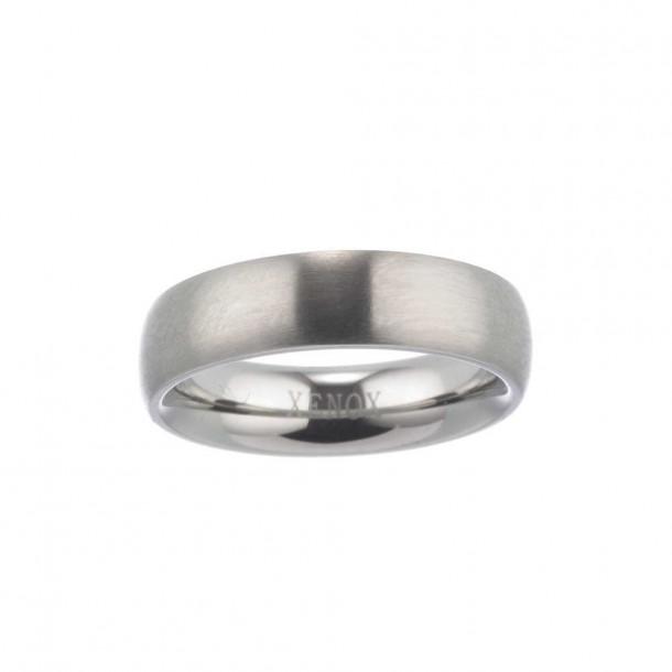 Xenox Ring Edelstahl - X5007/64