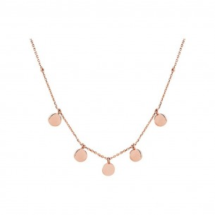 Xenox Collier silber-rose`vergoldet - XS3783R