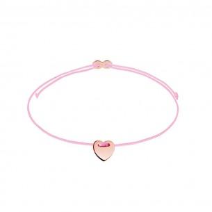 Armband Mädchen - Herz rose, XS1671R