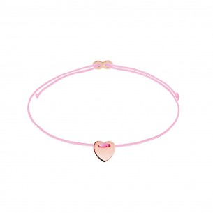 Xenox Armband Mädchen - Herz rose` - XS1671R