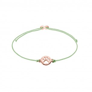 Xenox Armband Mädchen - Hundepfote rose` - XS1678R