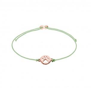 Armband Mädchen - Hundepfote rose, XS1678R