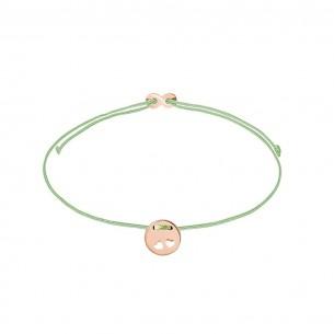 Xenox Armband Mädchen - Doppelherz rose` - XS1683R