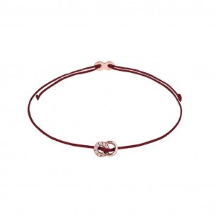 Xenox Armband Mädchen - Doppelring rose` - XS1686R