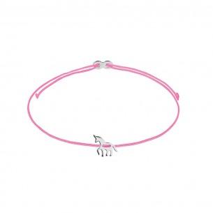 Xenox Armband Mädchen - Einhorn Silber - XS1684