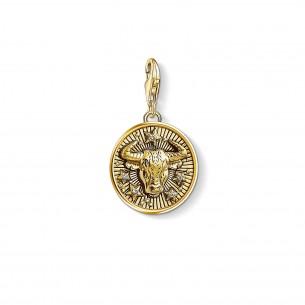 Thomas Sabo - Sterling Silver Charm Anhänger - Sternzeichen Stier - 1653-414-39