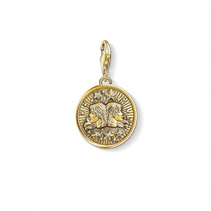 Thomas Sabo - Sterling Silver Charm - Anhänger - Sternzeichen Zwilling - 1654-414-39