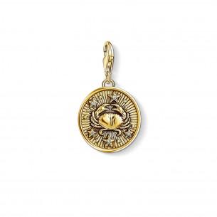 Thomas Sabo - Sterling Silver Charm Anhänger - Sternzeichen Krebs - 1655-414-39