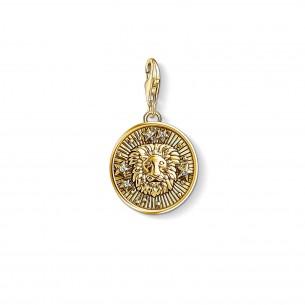 Thomas Sabo - Sterling Silver Charm Anhänger - Sternzeichen Loewe - 1656-414-39