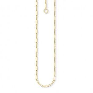 Thomas Sabo - Charm Club Kette Silbervergoldet 70 cm - X0254-413-39-L70