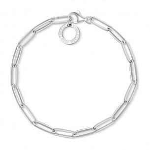 Thomas Sabo - Charm Club Armband Silber - Charm 18,5 cm - X0253-001-21-L18,5