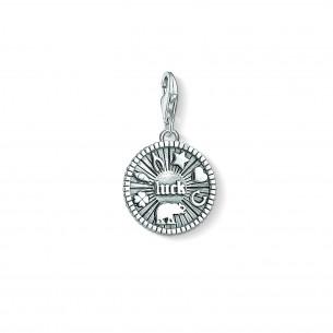 Thomas Sabo - Charm Club Charm-Anhänger - Glücks Coin - 1682-637-21