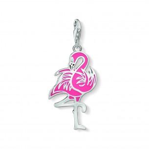 Thomas Sabo - Charm Club CHARM-ANHÄNGER - Flamingo - 1519-041-9