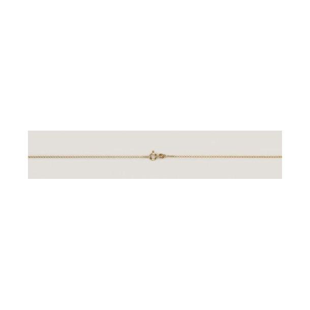 DIADORO Goldkettchen Goldkette Anker -/585 - Kinder- Taufkette - G0435/3638