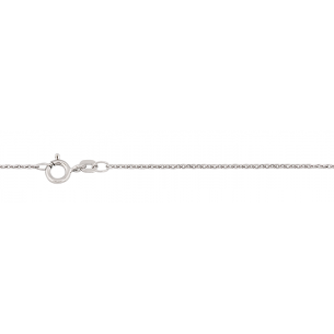 Goldkette Weissgold 585, Anker L42 cm, W0440/42