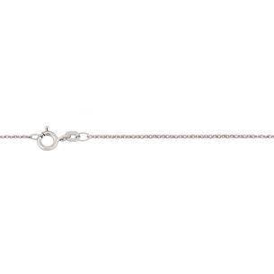 Taufkette Weissgold 14kt L42 cm, W0440/42