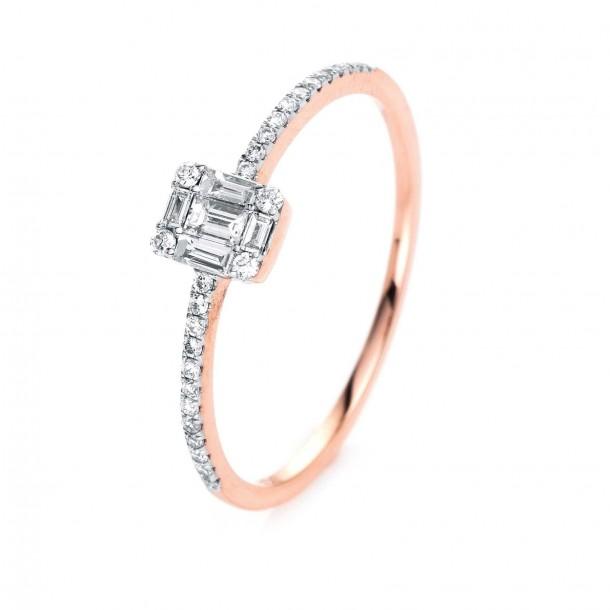 Ring Rosegold Baguette Brillant Diamanten 1i995r853 1 Juwelier