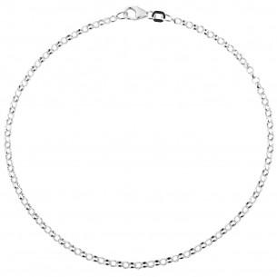 Fusskette Silber 925/Erbs, FSK01
