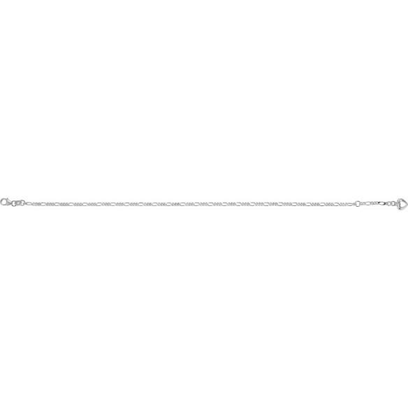 FSK06, Fusskette Silber 925 Figaro