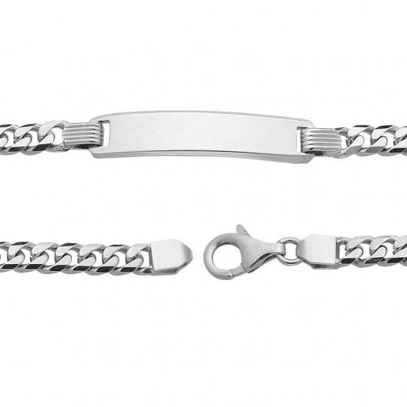 SAS01, Herrenarmband in Silber personalisierbar mit Gravur für persönliche Geschenke