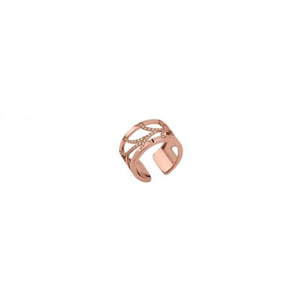 Les Georgettes Les Georgettes Ring mit Zirkonia, 12mm breit COUR12M, 3607051470225
