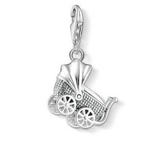 "Thomas Sabo - Charm Club Charm Anhänger ""Vintage Kinderwagen"" 1693-637-21, 4051245403466"
