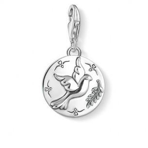 Thomas Sabo - Charm Club Charm - Coin Taube 1701-637-21, 4051245403497