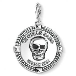 Thomas Sabo - Charm Club Charm - Coin Totenkopf 1698-637-21, 4051245403305