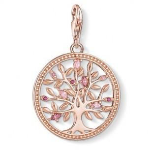 Thomas Sabo - Charm Club Charm - Tree of Love rosé 1700-626-9, 4051245403442