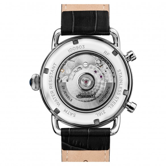 Ingersoll Herrenuhr Automatic - The New England I00903, 5013348511942