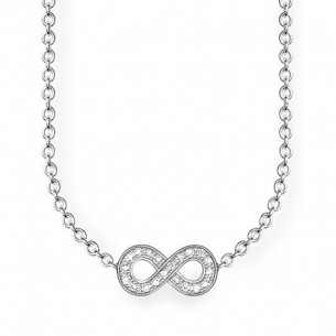 Thomas Sabo Sterling Silver Collier - Unendlichkeit, D_KE0001-725-14-L45V