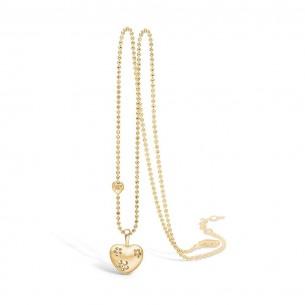 Blossom Collier Silbervergoldet 925/- Herz 23301000-45, 23301000