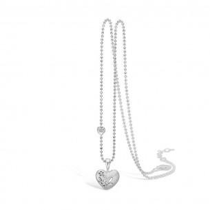 Blossom Silberkette 925/- mit Anhänger Herz 21301168-45, 2130116845