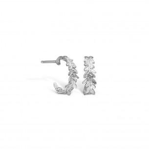 Blossom Ohrstecker Silber 925/- Creole mit Brisur 21911250, 21911250