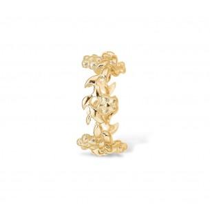 Blossom Ring Silbervergoldet 925/- Romantic Flower 23611228-55, 23611228
