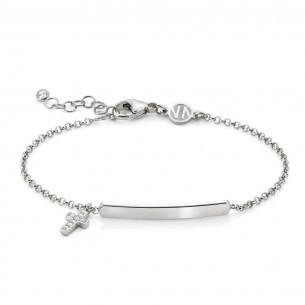 Nomination Nomination Armband in Silber mit Anhänger und Plakette 146233/013, 8033497455741