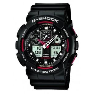 Herrenchronograph - Casio G-Shock, GA-100-1A4ER