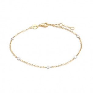 StarDiamant Armband Gold 585, mit Diamanten, D2699G